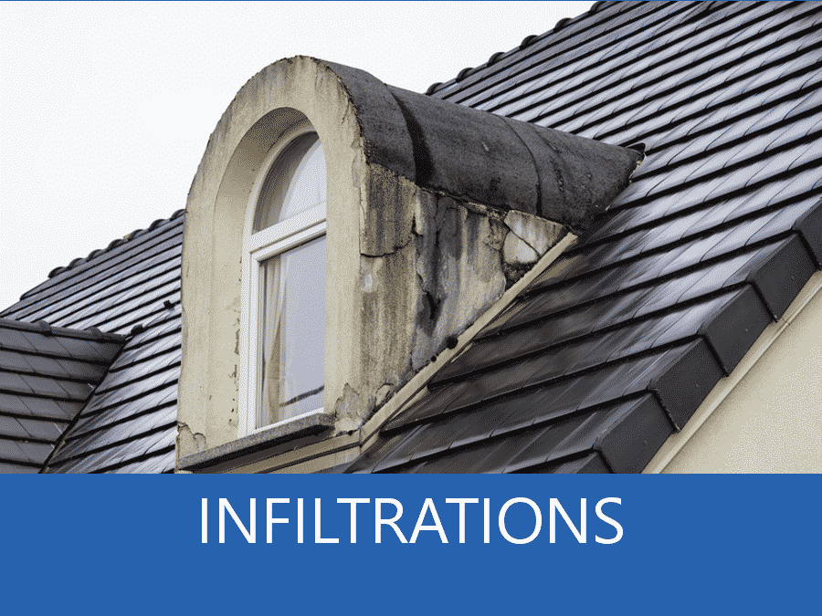 infiltration 73, problème d'infiltration Chambéry, solution infiltration maison Savoie,
