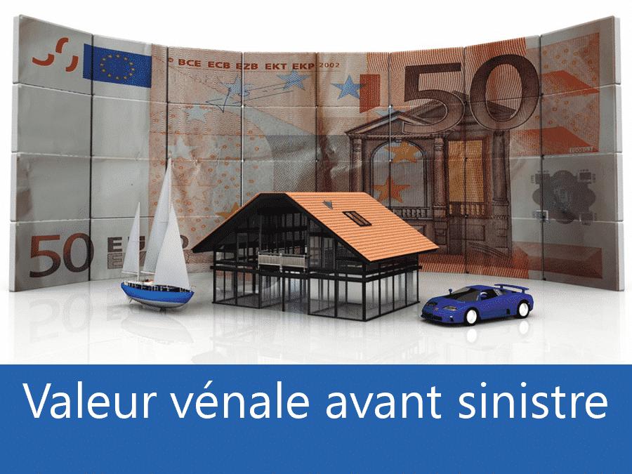 Valeur vénal avant sinistre 73, valeur des biens assurance Chambéry, expert valeur vénale Savoie,